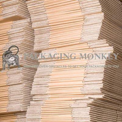 500 x S/W MAILING POSTAL CARDBOARD BOXES 13x10x12.5