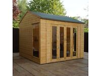 10 x 8 Vermont Summerhouse - FREE DELIVERY