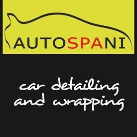 Car paint restoration, detailing. Machine buffing. Interior valet. Get your car shiny!