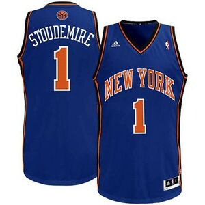 NEW YORK KNICKS AMARE STOUDEMIRE ADIDAS SWING JERSEY