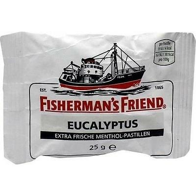 Fishermans Friend Pastillen (FISHERMANS FRIEND Eucalyptus mit Zucker Pastillen 25 g)