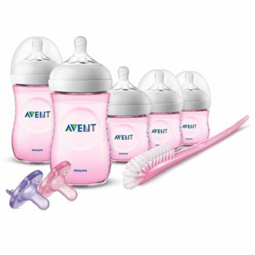 Philips Avent Natural Baby Bottle Gift Set Pink NEW  - $47.99