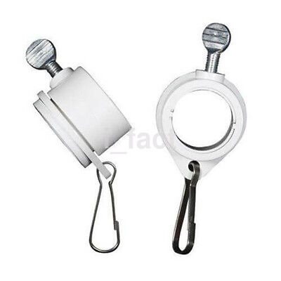 """2 Pack Rotating Flag Mounting Rings Fits 1"""" Diameter Flagpole Hot New US"""