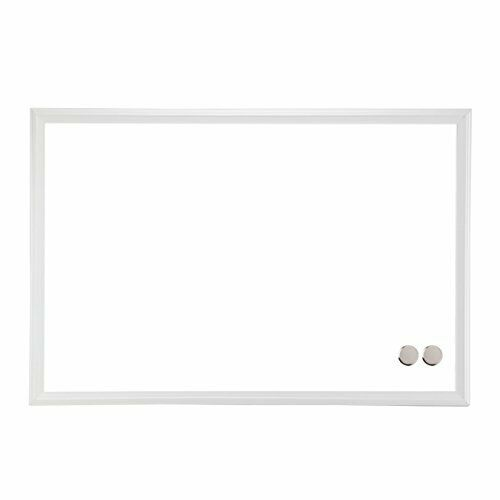 U Brands Magnetic Dry Erase Board, 20 x 30 Inches, White Wood Frame