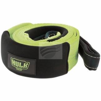 HULK 4x4 12T TREE TRUNK PROTECTOR 12,000KG RECOVERY WINCH 4WD OFF