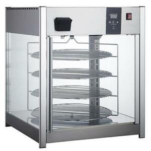 New Pizza Display Warmer - for Pizzeria - Four 18 Rotating Racks