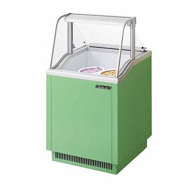 Turbo Air Tidc-26g 26-inch Ice Cream Dipping Cabinet Green