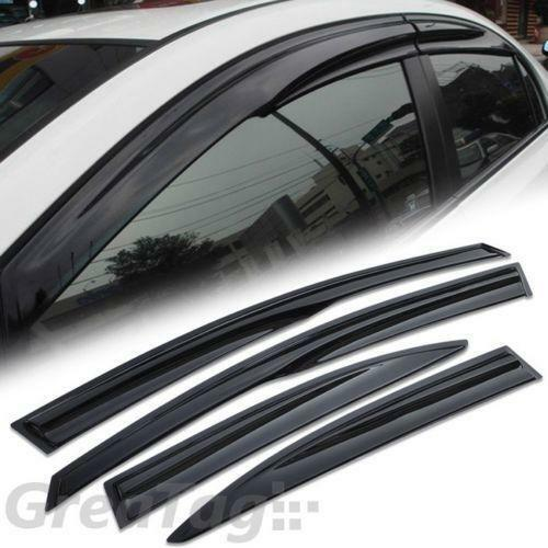 Chrome Window Deflectors Exterior Ebay