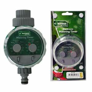 2 DIALS AUTOMATIC GARDEN IRRIGATION SYSTEM ELECTRONIC WATER TIMER FITS HOZELOCK