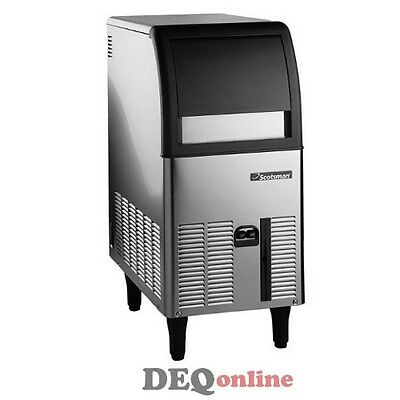 Scotsman Cu0515ga-1 Undercounter Ice Maker W Bin Up To 70 Lbs A Day
