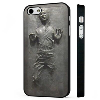 Hans Solo Frozen In Carbonite Star Wars BLACK PHONE CASE COVER fits iPHONE
