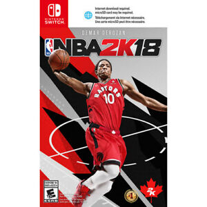 NBA 2K18 for Nintendo Switch - BRAND NEW, SEALED