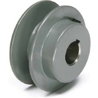 Tb Woods 78 Fixed Bore 1 Groove V-belt Pulley 2.55 Od Usa Seller Ak2578