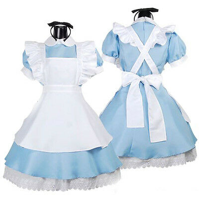 Alice in Wonderland Kagerou Project Mari Dienstmädchen Cosplay Kostüm Halloween (Kostüm In Halloween)
