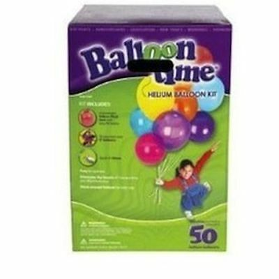 Helium Tank Balloon Time Kit 50 Each Total 200 Balloons  Pack Of 4