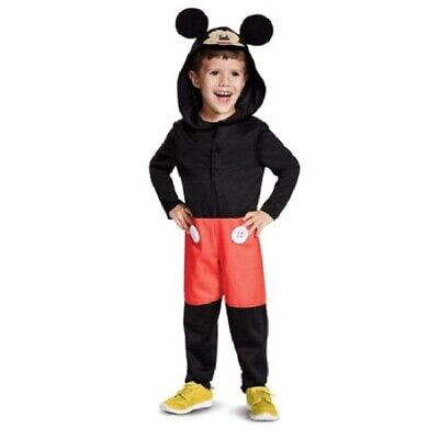 Disney Junior Mickey Mouse Clubhouse Toddler Halloween Costume Size 3T-4T - Mickey Mouse Toddler Halloween Costume