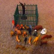Plastic Zoo Animals