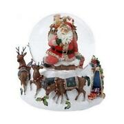 Santa Snow Globe Music