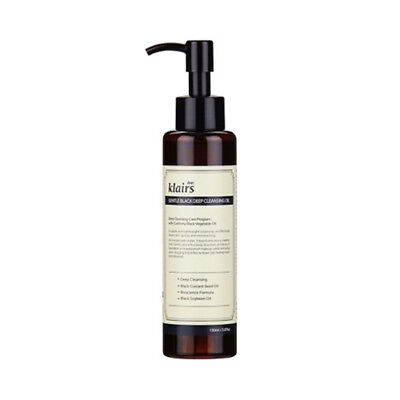 [Klairs] Gentle Black Deep Cleansing Oil - 150ml / Free Gift