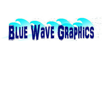 Blue Wave Graphics and vinyl