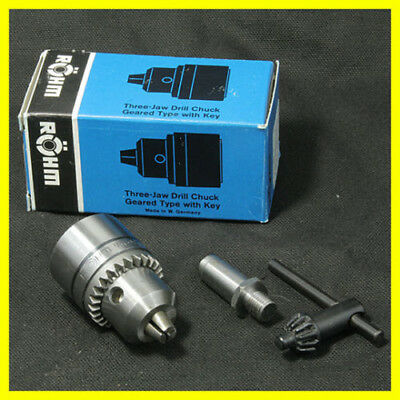 Nos 516 Rohm Drill Chuck For Sherline Lathe With 1 Arbor For Lathe Or Mill