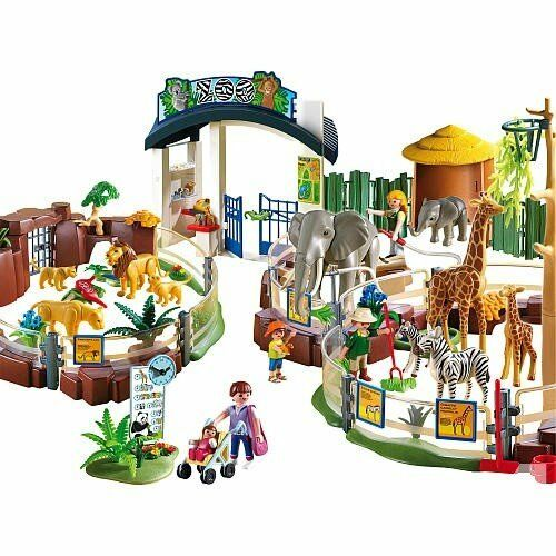 playmobil large zoo set