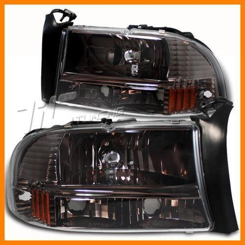 01 dodge durango headlights ebay. Black Bedroom Furniture Sets. Home Design Ideas
