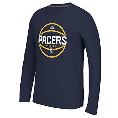 Indiana Pacers Adidas Slimmer Fit On-Court Dark Navy Pre-Gam