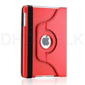 RED 360 ROTATING PU LEATHER CASE COVER WITH STAND FOR IPAD MINI Regina Regina Area image 5