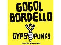 2x Gogol Bordello / Bristol / 4th July