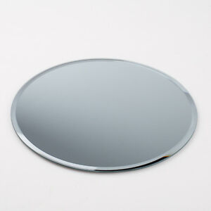 set of 10 round beveled table mirrors 10 inch great for