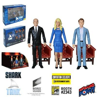 Shark Tank Kevin  Lori  Robert 3 3 4 Inch Figures Con  Excl