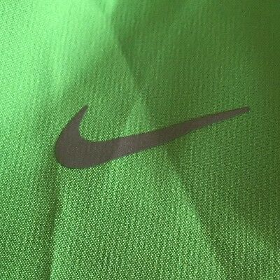 Nike Girl's Tempo Dash Dri-Fit Running Shorts Large Green Teal 555896 370 $22