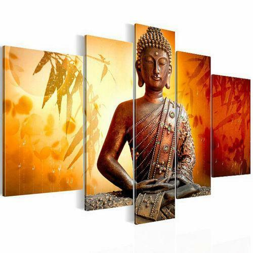 buddha leinwand bilder drucke ebay. Black Bedroom Furniture Sets. Home Design Ideas