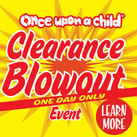 CLEARANCE SALE DEC 5 - Once Upon A Child Abbotsford