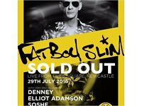 1x Fatboy Slim Ticket July 29th Newcastle Time Square