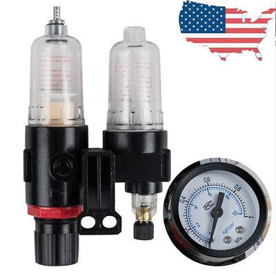 14 Air Compressor Filter Oil Water Separator Trap Tools Air Pressure 40m Fda