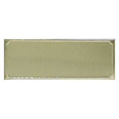 Aluminium Plate Ornament 50 Piece High Gloss For Gravograph Engraving Machine
