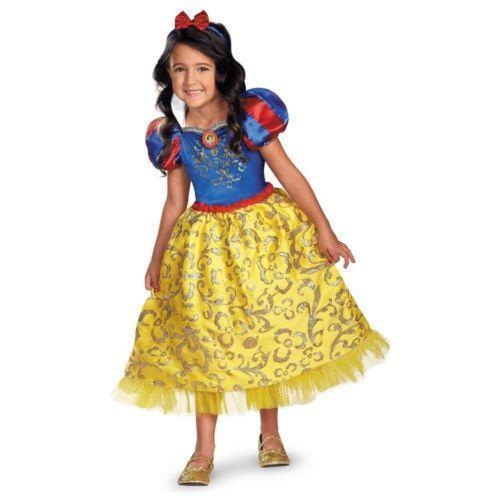 Halloween Child Costume Princess Dressup Set Disney: Snow White Costume Kids