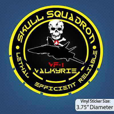 Robotech / Skull Squadron / Decal / Sticker