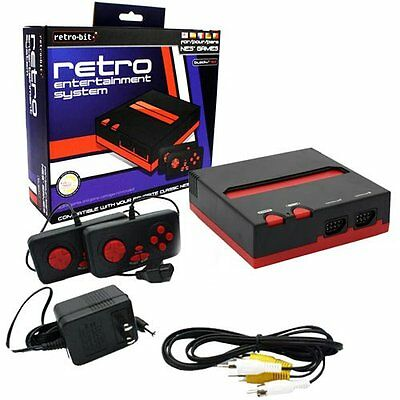 Retro Bit Nintendo NES Entertainment System (Red/Black), Free Shipping, New