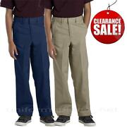 Boys Blue Uniform Pants