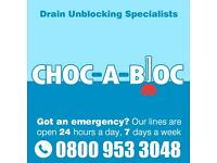 LOW COST Emergency Drain Unblocking & Repairs