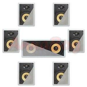 7-1-In-Wall-In-Celing-Speaker-System-Kevlar-Speakers-Power-Peak-2100-Watts