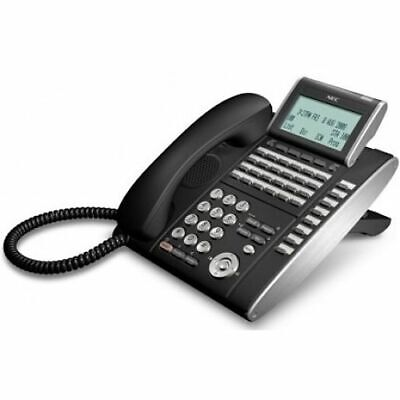 Nec Dtl-32d-1bktel Dlvxdz-ybk Phone Black Grade A Refurb 1 Year Warranty