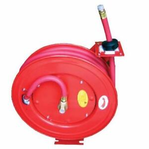 """Air Hose 3/8"""" x 50 Ft W/ Retractable Reel (BRAND NEW)"""