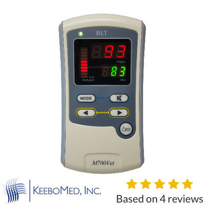 Handheld Blt M700vet Veterinary Pulse Oximeter Animal Accessories Batteries
