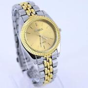 Mens Watches Gold Stainless Steel