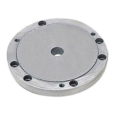 Flange For 6 3-jaw Chuck On 8 Or 10 Rotary Table 3900-2355 Made In Taiwan