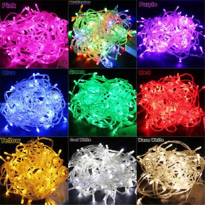10M 100 LED Christmas Tree Fairy String Party Lights Xmax Wa